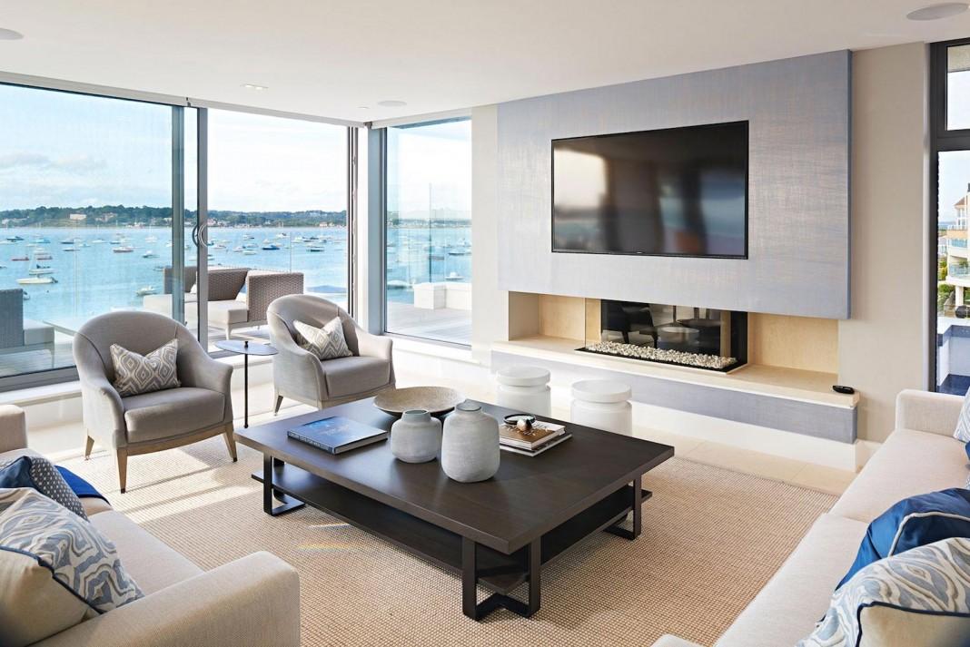 Moondance Luxury Apartment Block In Dorset England By David James Architects Associates Ltd