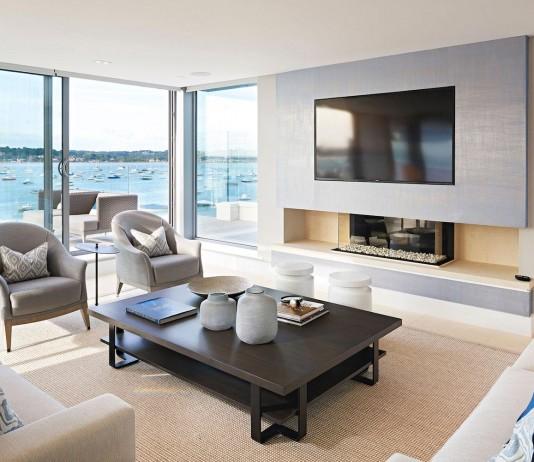 Moondance luxury apartment block in Dorset, England by David James Architects & Associates Ltd