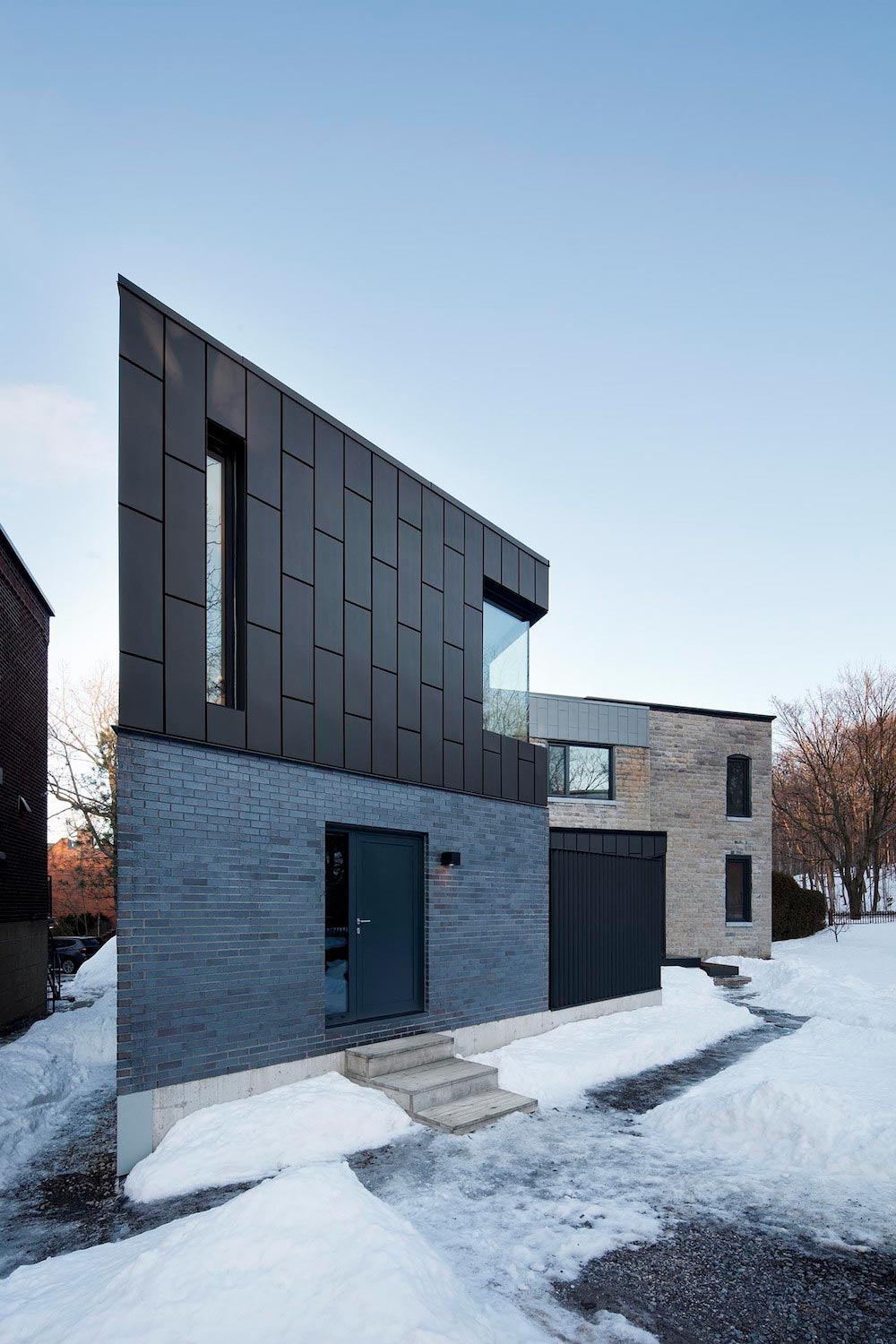 NatureHumaine redesigned the McCulloch Residence, a 1860s old home near Mount Royal in Montreal