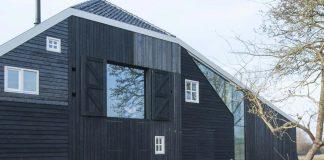 SeARCH design the Jisp Villa, a restoration of an old farmhouse in Jisp, North Holland