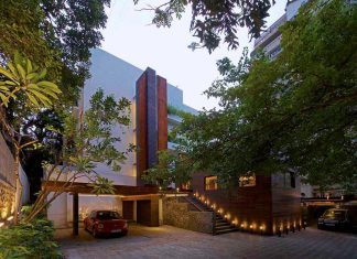 Shroffleon design The Orange Extension in Mumbai, India