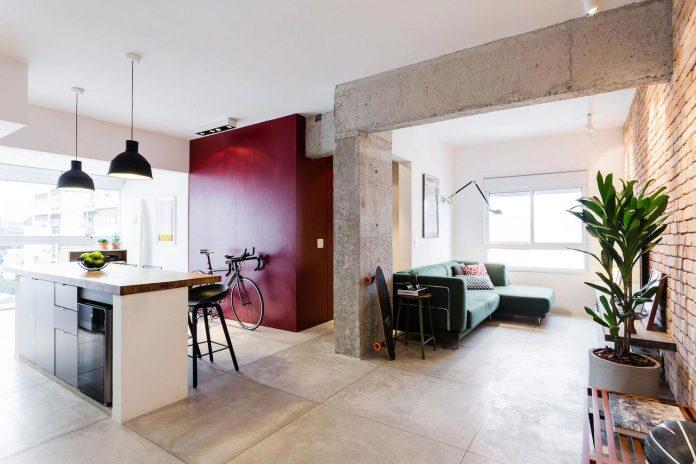 Small chic alves apartment designed rsrg arquitetos sao