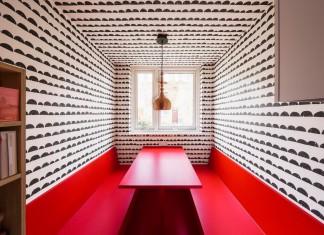 Studio Alexander Fehre design the Apartment Filippo, a colourful 484 square foot home in the city of London