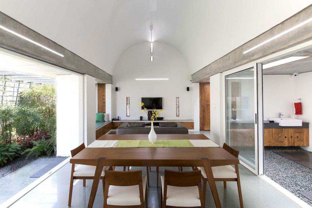 Walls Vaults Villa Lijo Reny Architects on Kerala Furniture Designs