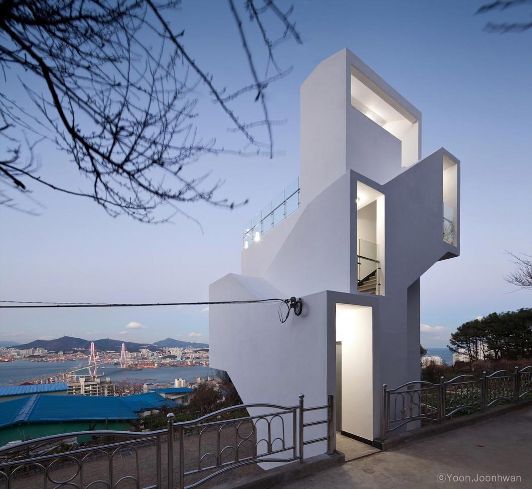 Yeongdo Haedoji Village Sight Tree by ADDarchi Architects Group