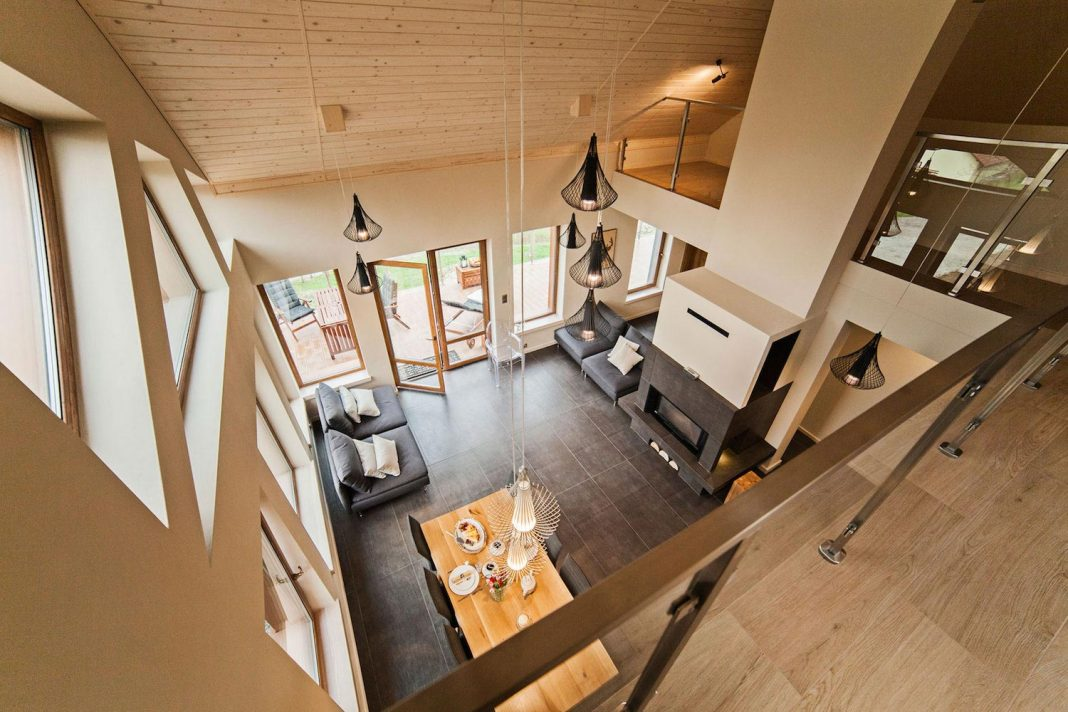 Aspen luxury villa located in a small Polish village high in mountains