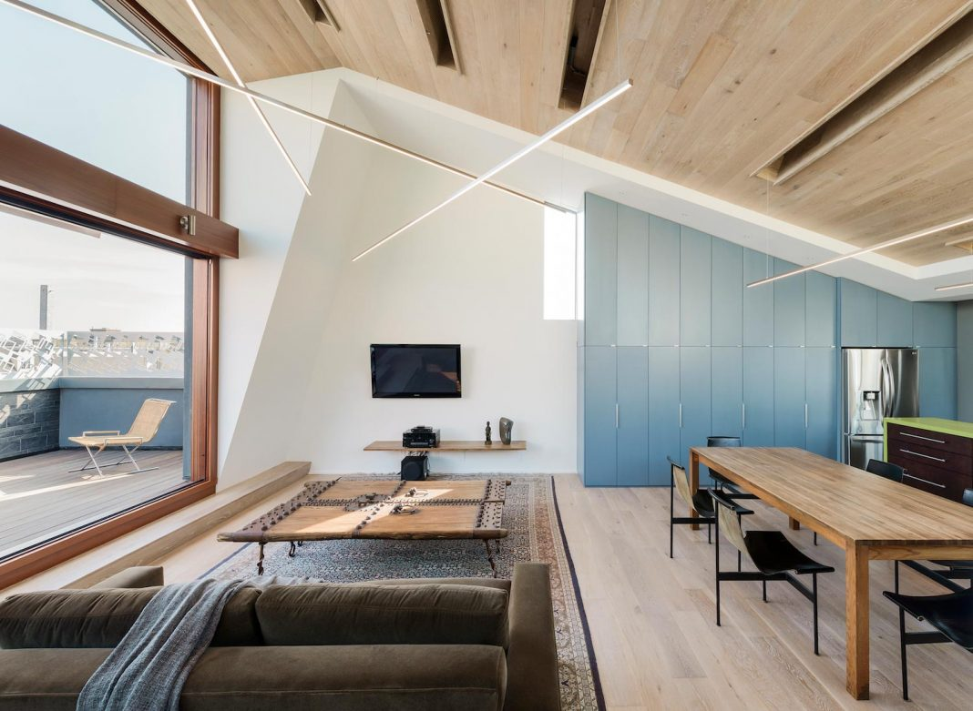 Albion Street Townhouse located in San Francisco by Kennerly Architecture & Planning