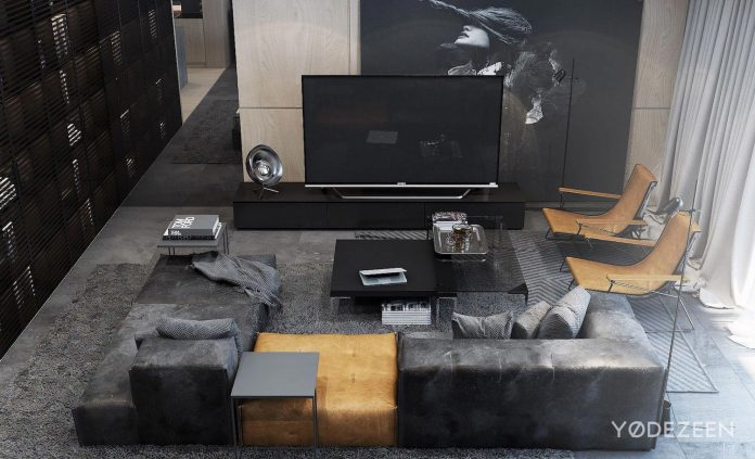 Apartment Mix Modern Architecture Touch Tradition Vizualized Yodezeen