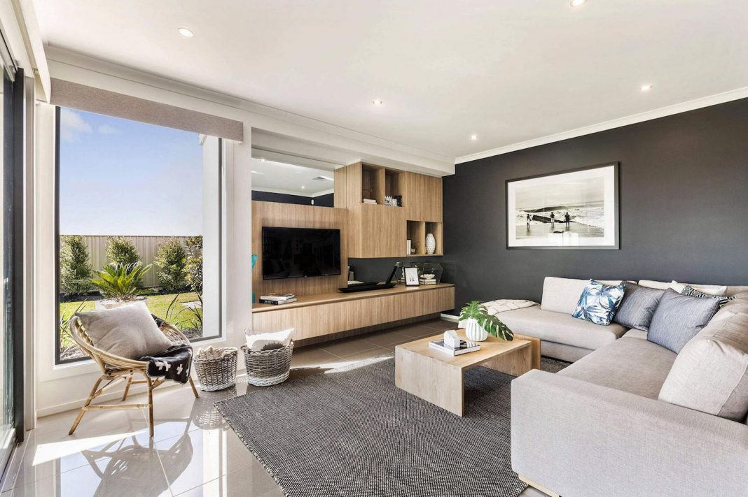 The Botanica Home With A Large Open Plan Living Area