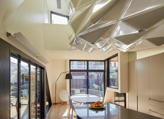 Bower Contemporary House situated in Carlton North, Melbourne by Andrew Simpson Architects