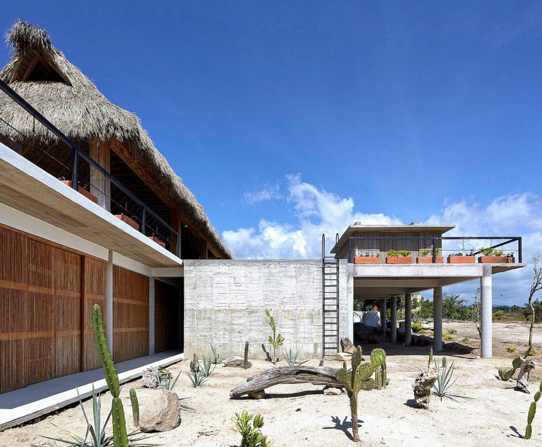 Cal Beach House near Puerto Escondido Oaxaca the Mexican surf mecca designed by BAAQ'