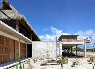 Cal Beach House near Puerto Escondido Oaxaca the Mexican surf mecca designed by BAAQ'