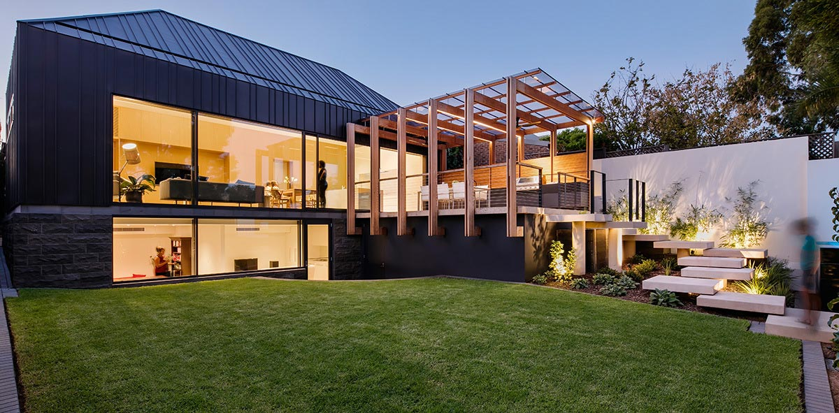 A Contemporary Double Story St Peter S Home Extension By