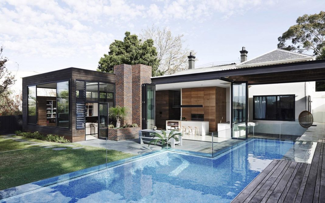 contemporary renovation of malvern victorian residence by