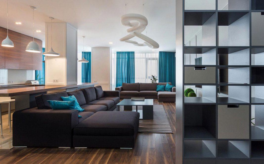 Contemporary Spacious Skyline Apartment With Stunning
