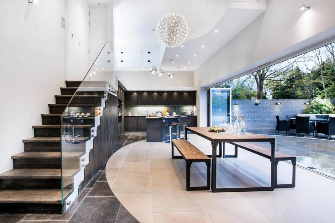 The Cooke's Luxurious Home in London by Chris Cooke and Stimilon Developments