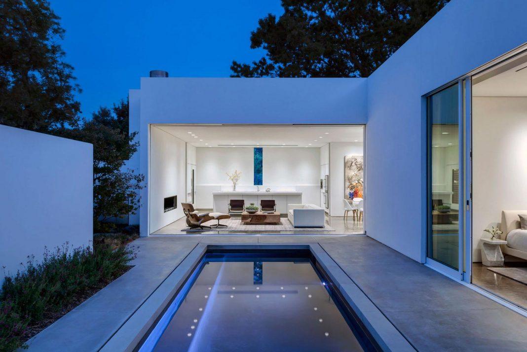 di Luce White Villa in Dallas by Morrison Dilworth + Walls
