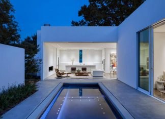 di Luce White Villa in Dallas by Morrison Dilworth + Walls