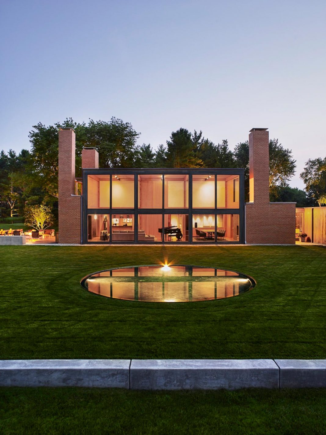 Louis Kahn's Korman Residence Interior Renovation by Jennifer Post Design