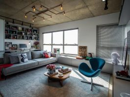MaxHaus condo with the concept of free plan loft style by Casa 2 Arquitetos