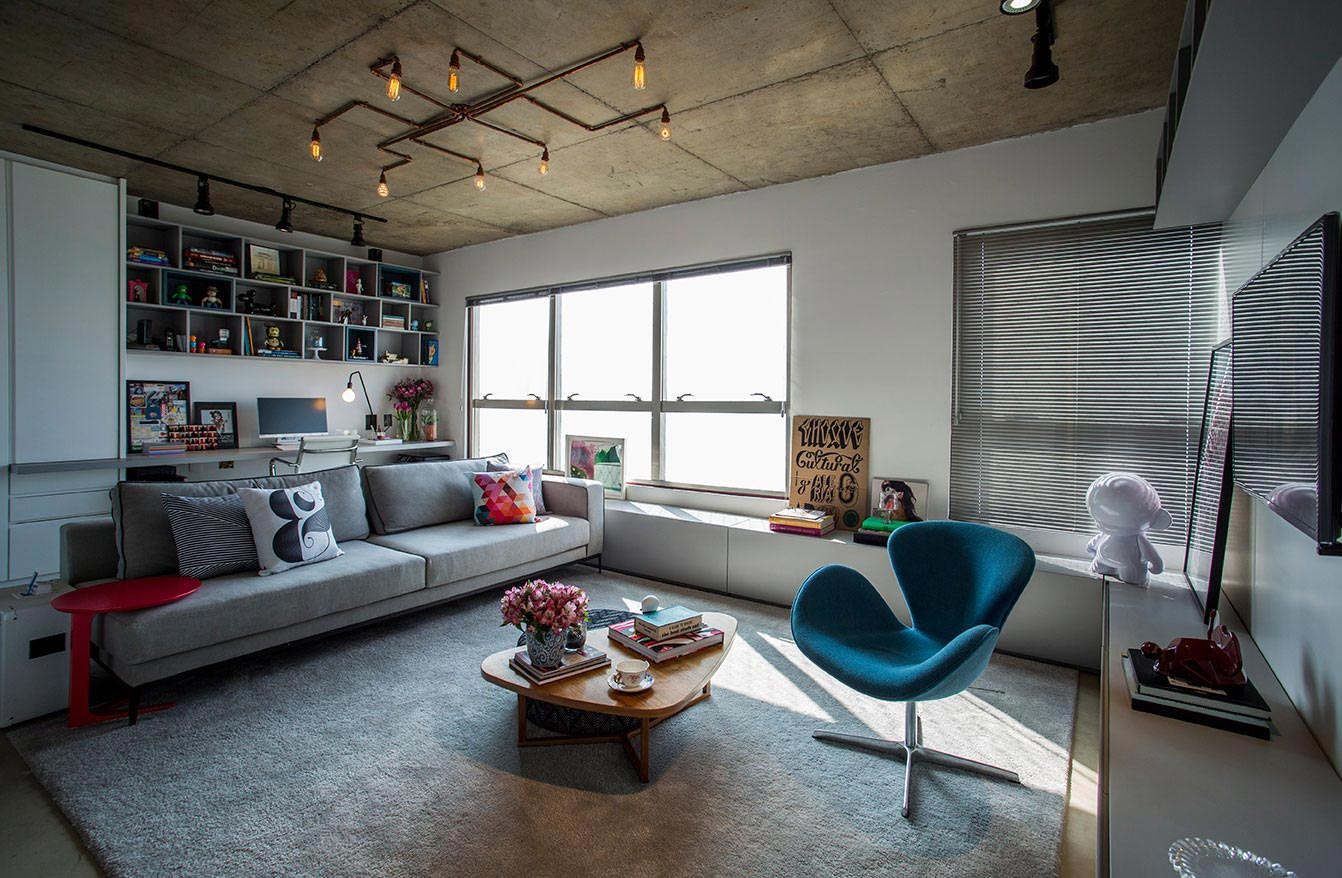 Maxhaus Condo With The Concept Of Free Plan Loft Style By