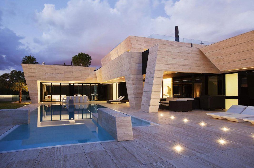 Modern S.V. House Located In Seville, Spain By A Cero Design Ideas