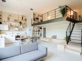 Old school conversion into an apartment building in Amsterdam by Standard Studio & CASA architecten