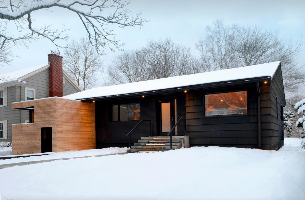 Peter Braithwaite Studio design the restore of an Old Bungalow into Contemporary South End Residence