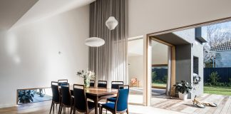 Renovation of an 1930s brick with a rear 1970s addition home into Contemporary Hoddle House by Freedman White