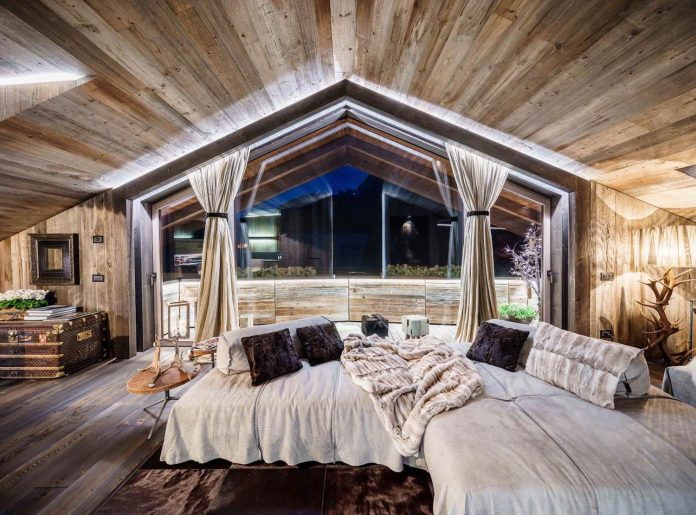 Shades Of Gray Luxury Chalet In Cortina D Ampezzo By