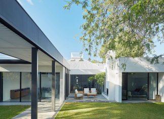 Single-level Claremont Residence by David Barr Architect