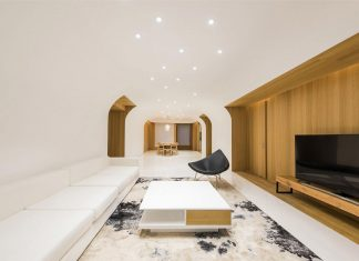 Three storey contemporary Haitang Villa in the Chaoyang District of Beijing designed by ARCHSTUDIO