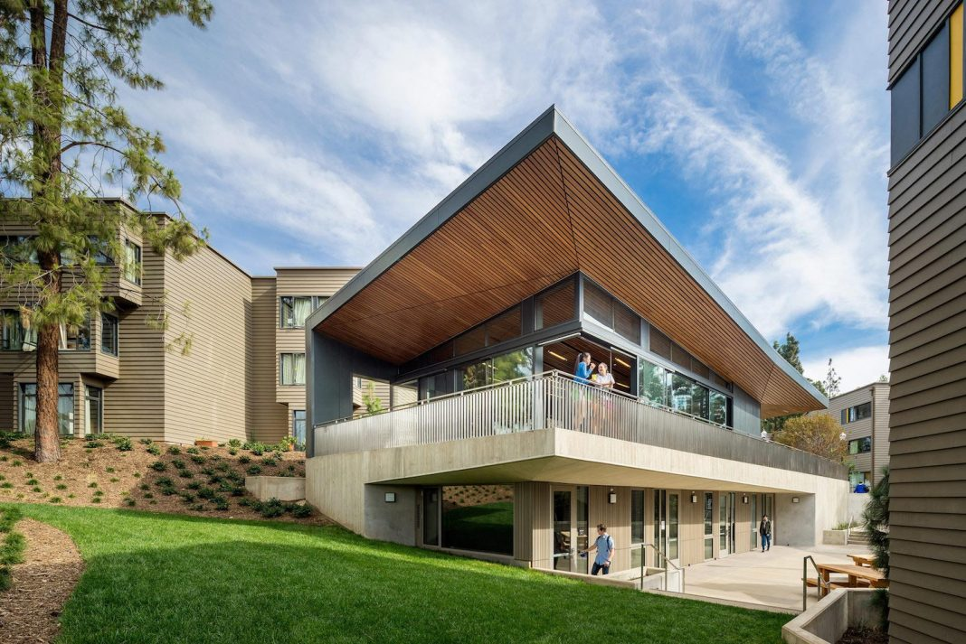 UCLA Hitch Student Residences designed by Steinberg