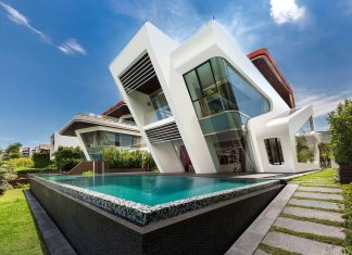 Ultramodern Mistral Villa in Singapore designed by Mercurio Design Lab