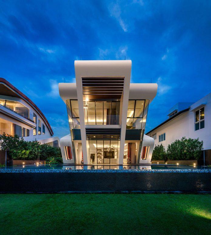 Ultramodern mistral villa singapore designed mercurio design lab