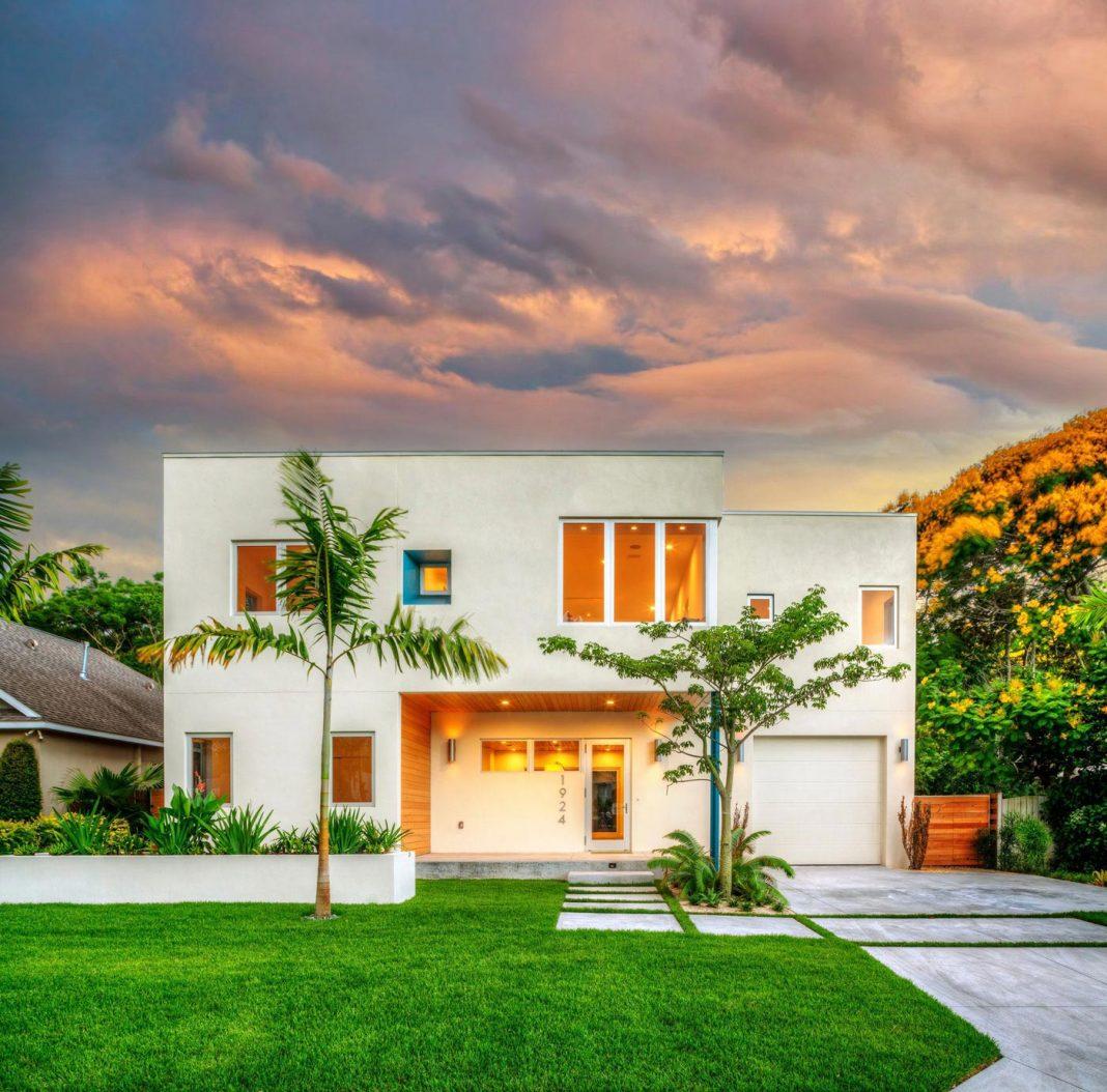Bougainvillea Villa In Sarasota Florida Designed By Traction Architecture