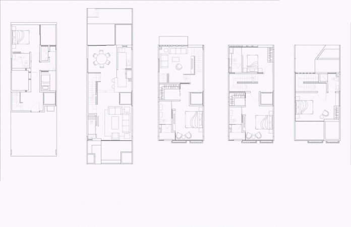 Charlton 27 Is A 27 Unit Cluster Terrace Project In The Heart Of The Tropical City State By A D Lab Caandesign Architecture And Home Design Blog