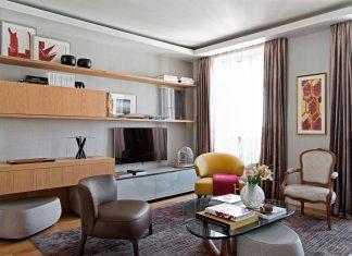 Chic apartment in Paris designed by Diego Revollo Arquitetura