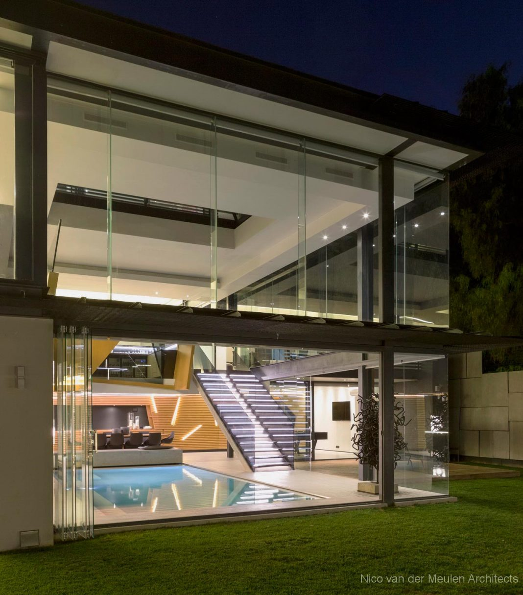 The Concrete House Masterpiece By Nico Van Der Meulen