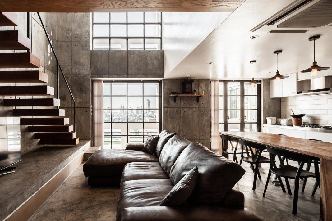 Studio Apartment Renovation contemporary chef's two story apartment renovationfattstudio