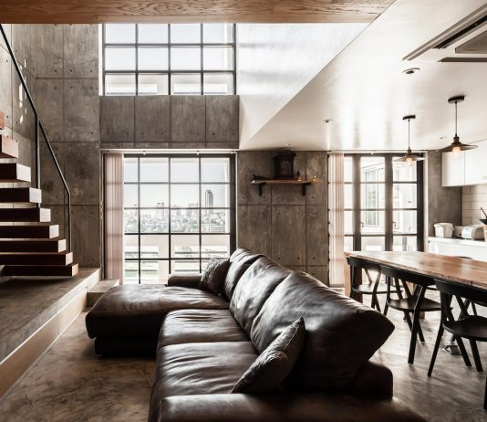 Contemporary Chef's two story apartment renovation by FATTSTUDIO
