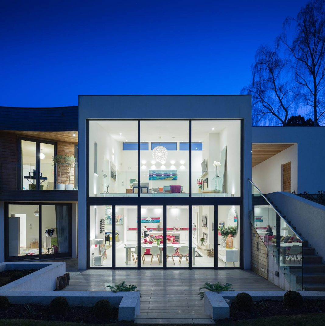 Contemporary and highly sustainable and energy efficient family home in Hampshire by Witcher Crawford