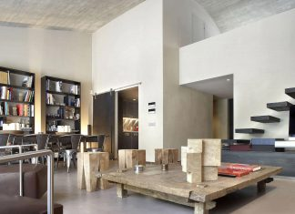 Contemporary open-plan space apartment in Barcelona designed by GCA Architects