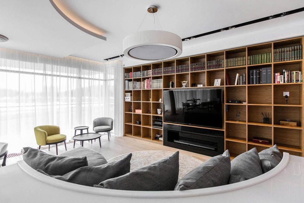 Contemporary pestovo apartment designed by architectural bureau