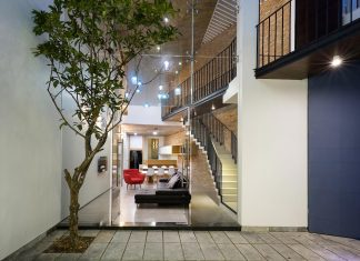 Contemporary townhouse in Saigon by AD+studio