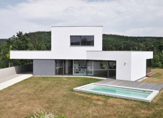 Family House at the End of the Town by ATELIER 111