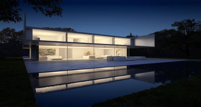 fran-silvestre-arquitectos-design-modern-two-storey-aluminium-residence-located-madrid-23