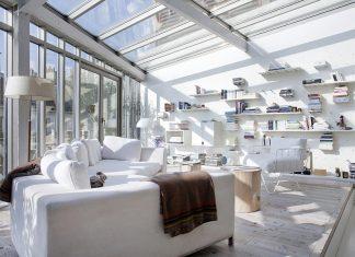 LK contemporary pale colour Loft in Paris designed by Olivier Chabaud Architectes
