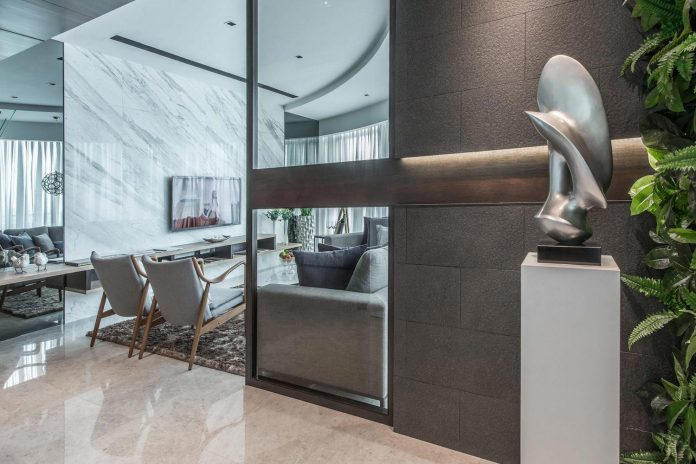 Foyer Infinity Apartment : Nu infinity design the dc residency apartment in kuala