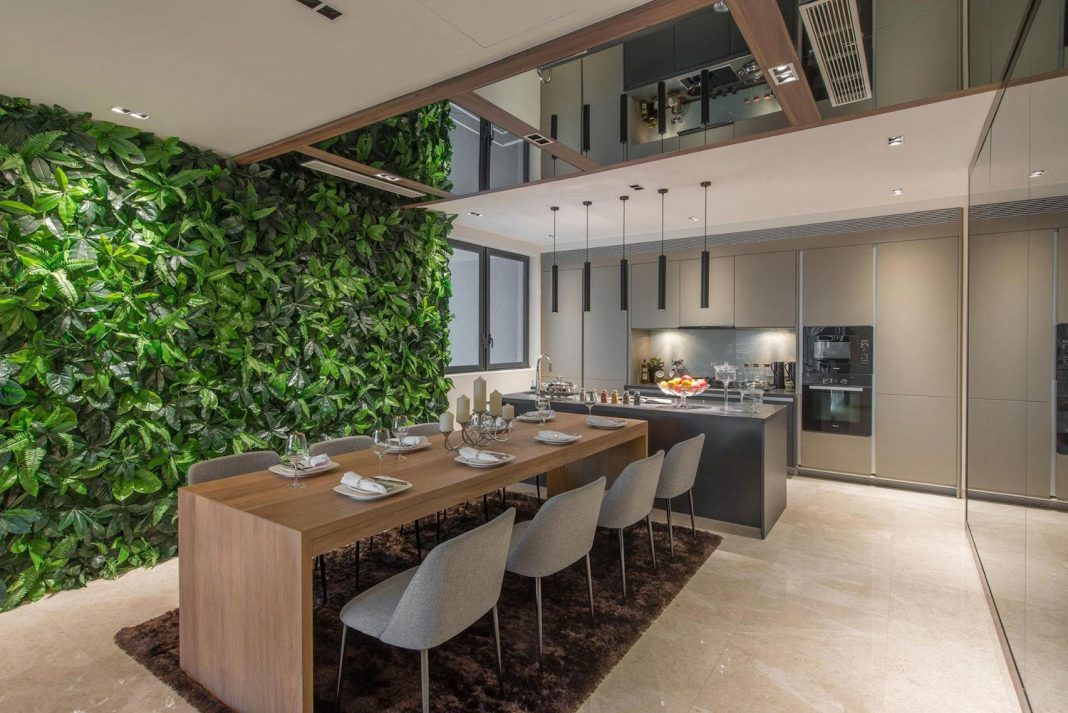 Nu Infinity design the DC Residency Apartment in Kuala Lumpur for a travel lover and photographer